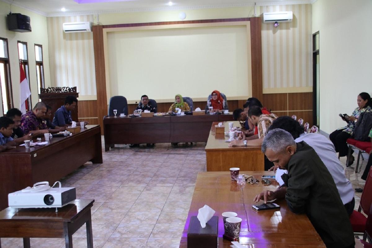 Jalin Sinergitas, Humas dan Protokol Setda Blora Gelar Rakor Bersama Kominfo dan Awak Media