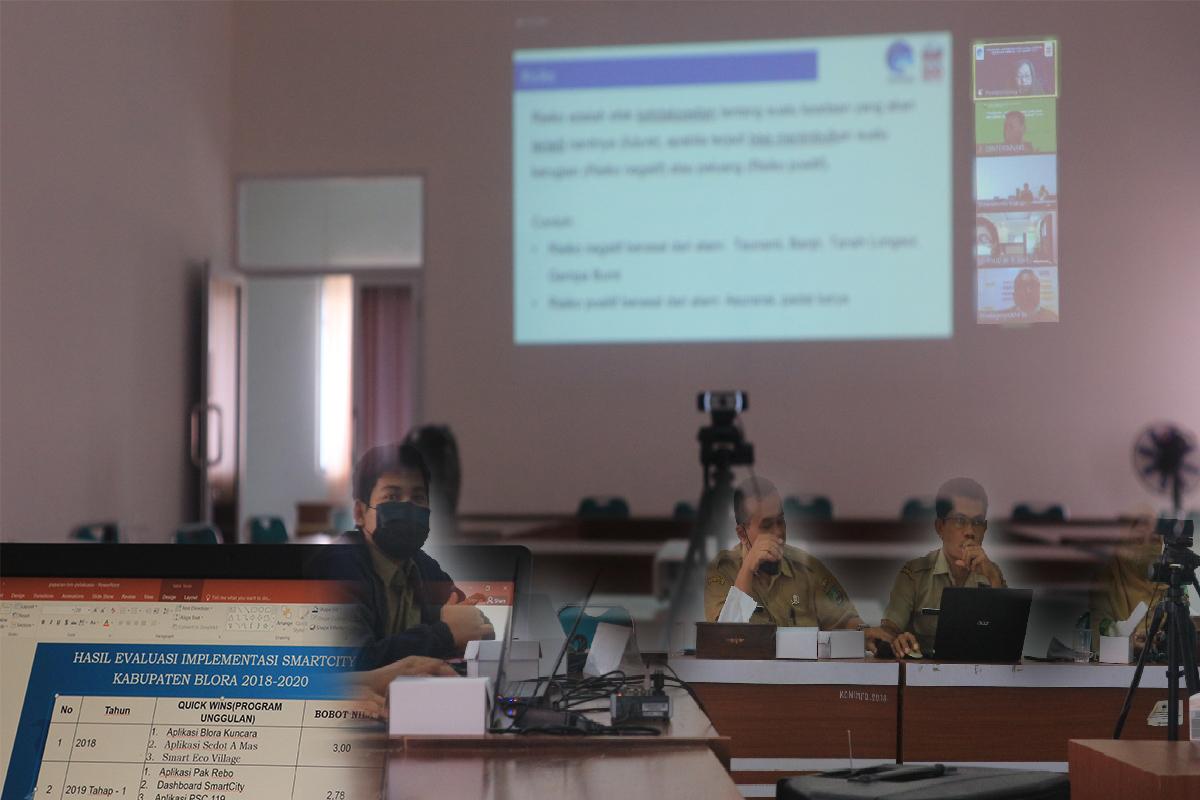 Tinjauan Lapangan Program Smart City Kabupaten Blora